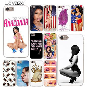 Lavaza Nicki Minaj Hard Phone Cover Case for Apple iPhone 10 X 8 7 6 6s Plus 5 5S SE 5C 4 4S Coque Shell