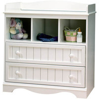 South Shore Country Changing Table - Pure White|Meijer.com