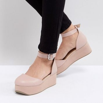 ASOS TABBI Flatform Shoes at asos.com