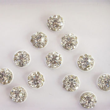 Jollly silver Bindis In One Pack  stud with  rhinestones/ Indian India Bindis/ / Bindi Sticker/ Bindi Jewels/ Face Jewels/ Pearl Bindis