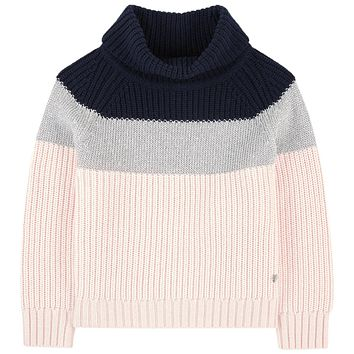 Armani Junior Girls Cashmere Blend Sweater