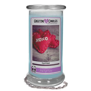 Xoxo Hugs & Kisses! | Jewelry Greeting Candle