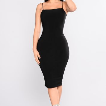 Nova Babe Dress - Black