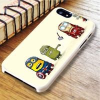 the avengers minion Despicable Me Super heroes hulk captain american ironman thor | For iPhone 6 Plus Cases | Free Shipping | AH0471