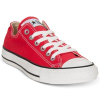 Converse Women's Chuck Taylor Ox Casual Sneakers - Kids Finish Line Athletic Shoes - Macy's