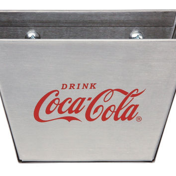 TableCraft Coca-Cola CC361 Stainless Steel Cap Catcher, Red/Silver