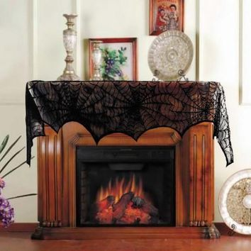 Spiderweb Fireplace Cover