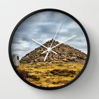 Beamsley Beacon  Wall Clock by Karl Wilson Photography
