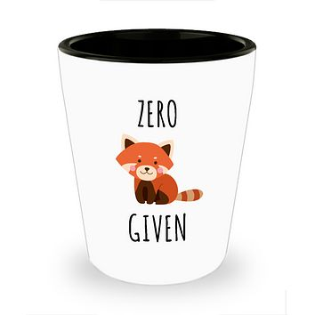Zero Fox Given Ceramic Shot Glass Fox Gifts