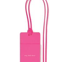 Kate Spade Who Me? Id Holder Pink ONE