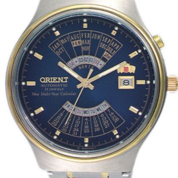 ORIENT Automatic Watch FEU00000DW Stainless Steel 50m FEU00000 With ORIENT Box