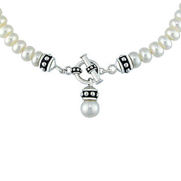 Honora Pearl Toggle Necklace