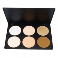 6 Color Press Powder Makeup