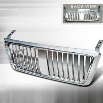 Ford 2004-2007 Ford F150 1P Chrome Grille Vertical PERFORMANCE