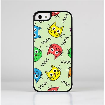 The Colorful Cat iCons Skin-Sert for the Apple iPhone 5-5s Skin-Sert Case