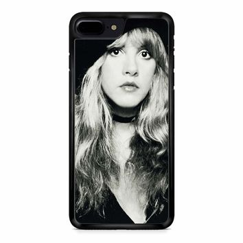 Stevie Nicks Black And White iPhone 8 Plus Case