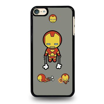 IRON MAN KAWAII Marvel Avengers iPod Touch 6 Case Cover