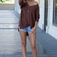 Sophia Knit Brick Sweater