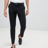 Burton Menswear Skinny Fit Trouser In Black at asos.com