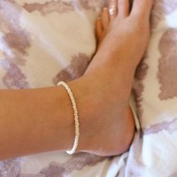 Coconut Shell Anklet