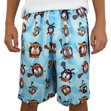 Ninja Penguin Lacrosse Shorts | Lacrosse Unlimited