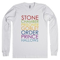 Stone Chamber Prisoner Goblet Order Prince Hallows-White T-Shirt 2XL |