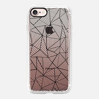 Abstraction Lines #2 Transparent iPhone 7 Case by Project M | Casetify