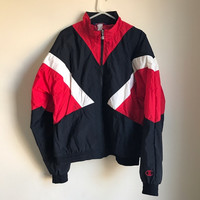 Rare Vintage Champion Full Zip Windbreaker