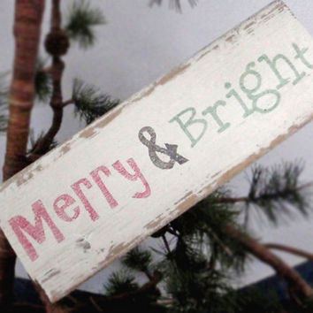 Rustic Christmas sign-Rustic Christmas decoration-Primitive Christmas sign-Primitive Christmas decor-Mantel decoration-Shabby chic Christmas