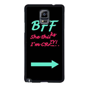 best friend bff couple cases left samsung galaxy note 4 note 3 2 cases