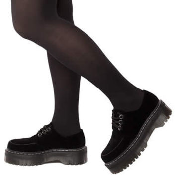 Women's Black Dr Martens Agyness Deyn Creeper Shoe at schuh