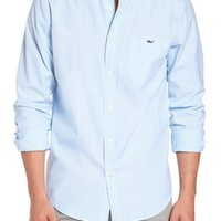 vineyard vines Swordfish Stripe Tucker Sport Shirt | Nordstrom