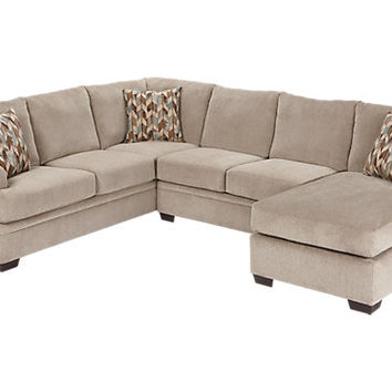 Sierra View Platinum 2Pc Sectional