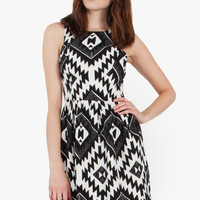 Aztec Statement Dress