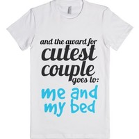 Cutest Couple Award-Female White T-Shirt