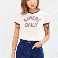 Corner Shop Lovers Only Ringer Tee