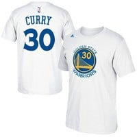 Stephen Curry - Golden State Warriors - Player T-Shirt (White)