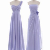 cheap purple series chiffon long bridesmaid dresses | Cheap bridesmaid dresses Sale