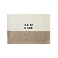 kate spade new york Food For Thought, Be Merry Be Bright Placemat