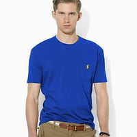 Polo Ralph Lauren Classic-Fit Short-Sleeved Cotton Jersey Pocket Crewneck T-Shirt 					 					 				 			 | Dillard's Mobile
