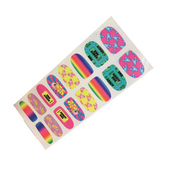 Carnival of Curiosity Nail Wraps