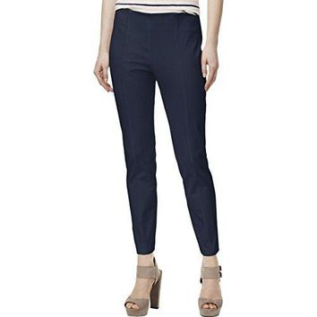 Maison Jules Womens Ankle Flat Front Casual Pants