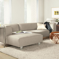 "Room & Board - Chelsea 120"" Sofa with Right-Arm Chaise"