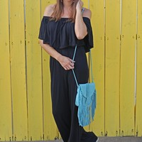 It Is Well Jumpsuit - Black