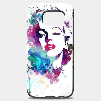 Marilyn Monroe Painting Samsung Galaxy Note 8 Case