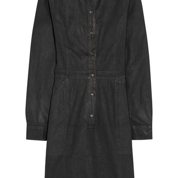 Tomas Maier - Coated denim shirt dress