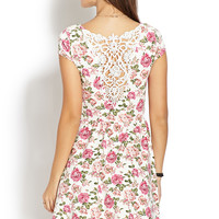 Enchanted Rose Skater Dress