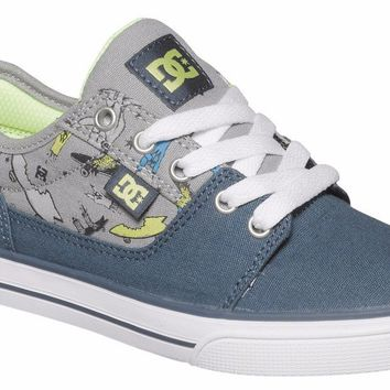 DC Tonik TX SE  Kid's Skate Shoe (Navy/Grey ADBS300051)