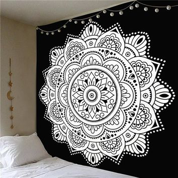 Psychedelic Spiritual Tapestry