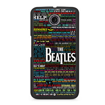 The Beatles Words of Wisdom Nexus 6 case